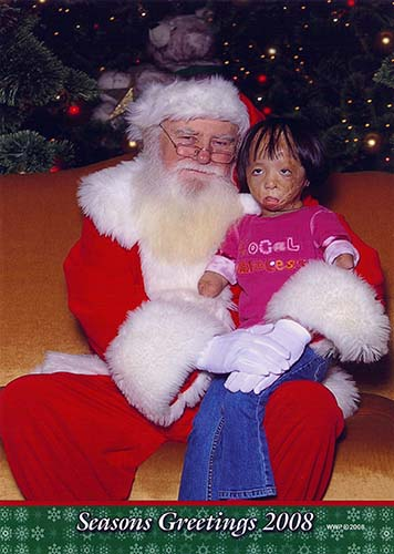 Boun Lod with Santa